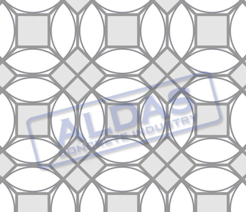 Hexagonal L, Squre 10, dan Square 16 Tipe 1
