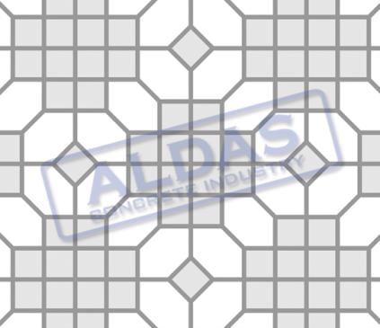 Hexagonal S dan Square 10 Tipe 9