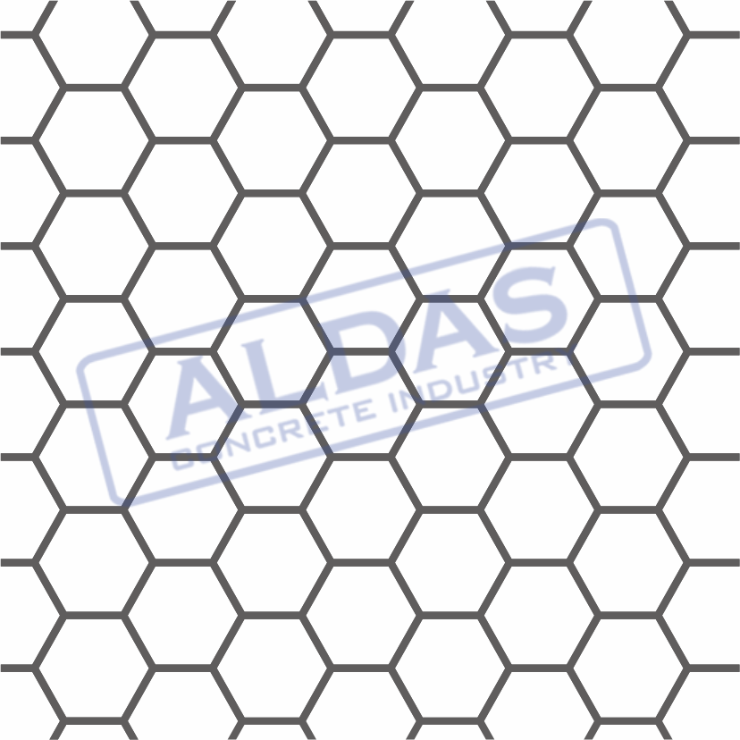 Hexagonal Kecil