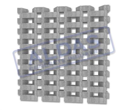 Roster Grassblock Trapez Tipe 1