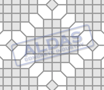 Hexagonal S dan Square 10 Tipe 10