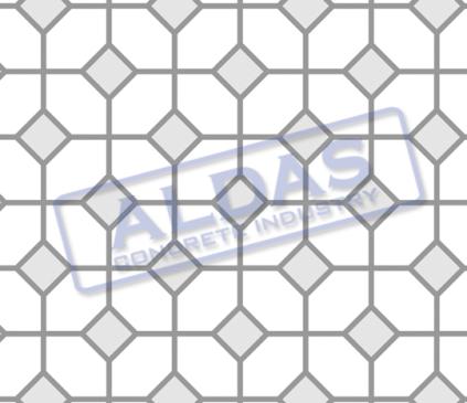 Hexagonal S dan Square 10 Tipe 3