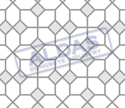 Hexagonal S dan Square 10 Tipe 4