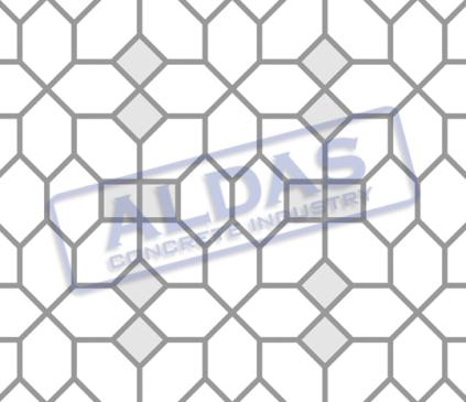 Hexagonal S dan Square 10 Tipe 5