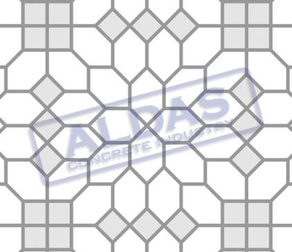Hexagonal S dan Square 10 Tipe 6