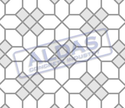 Hexagonal S dan Square 10 Tipe 7