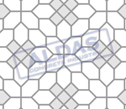Hexagonal S dan Square 10 Tipe 8