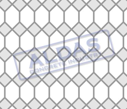 Hexagonal S dan Square 10 Tipe 1