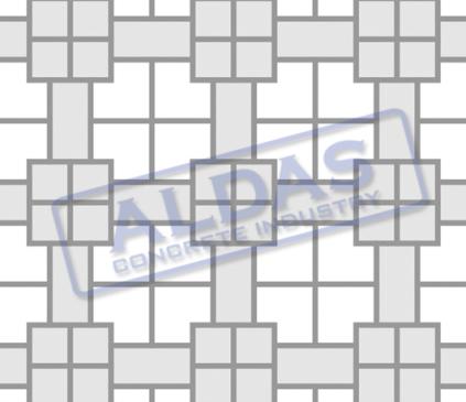 L Blok, Holland, dan Square 10,5 Tipe 1