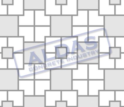 L Blok, Square 21 dan Square 10,5 Tipe 1