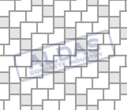 L Blok dan Square 10,5 Tipe 1