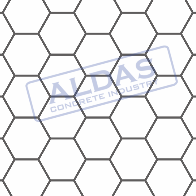 Hexagonal Besar